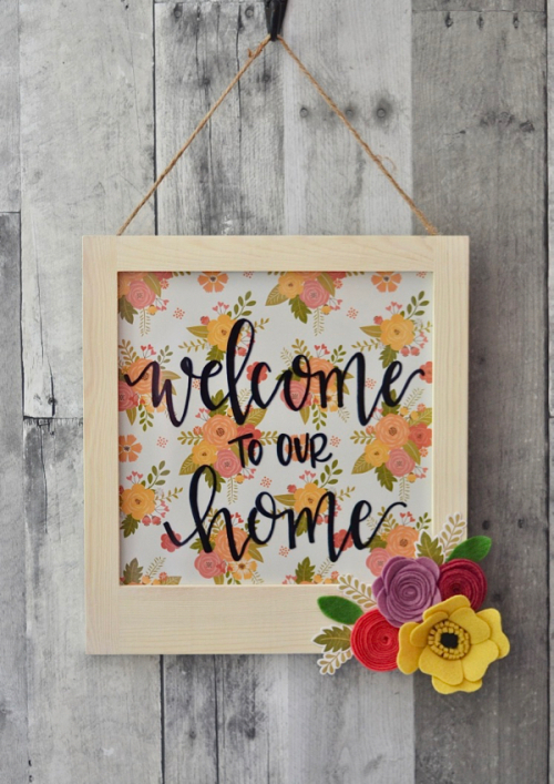 Brandi-Welcome to Our Home Sign #1
