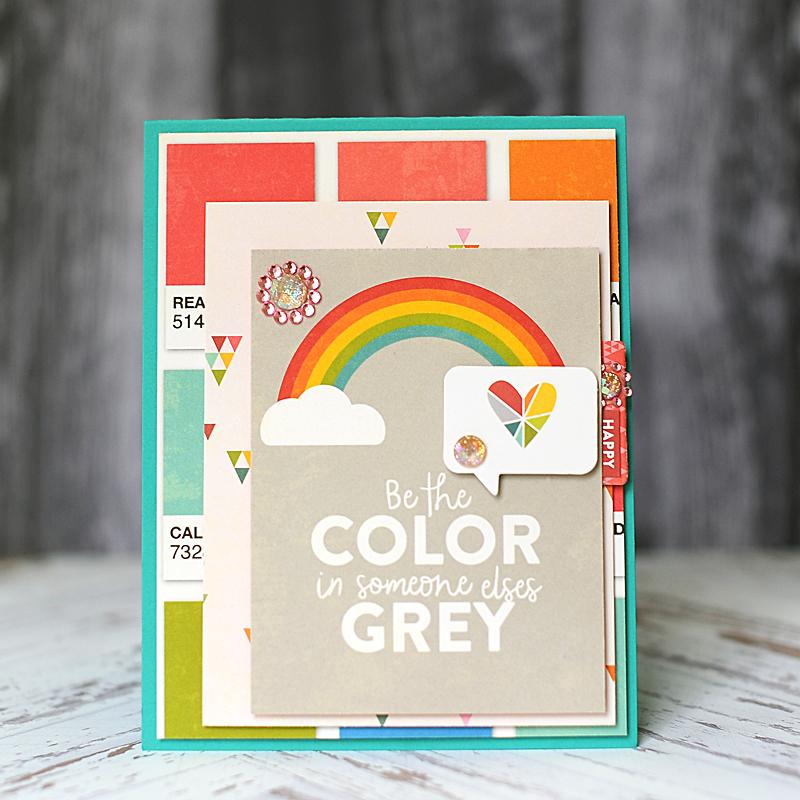 110317 - Jillibean Soup - Color My World Rainbow cards - 10