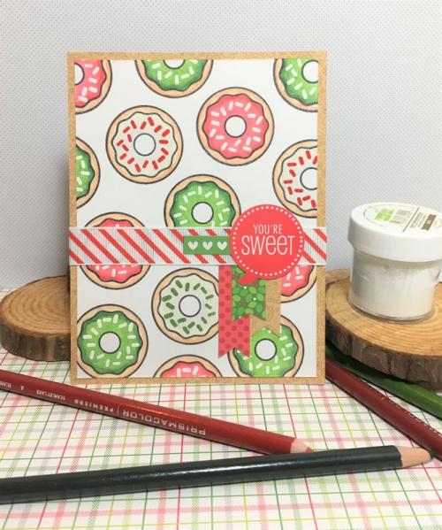 Melissa Ann-Donut Card