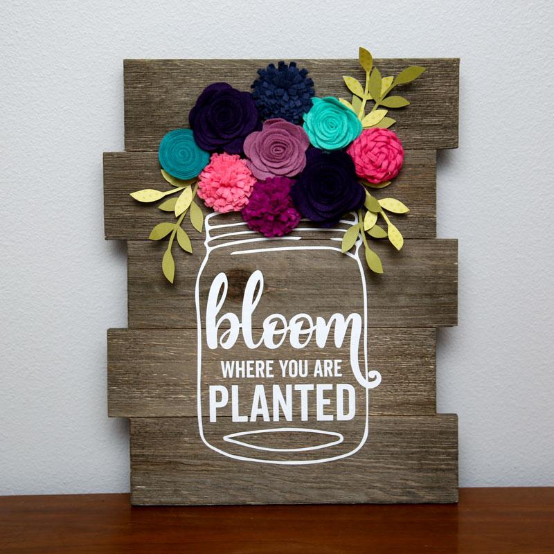 Jillibean-Soup-Summer-Fullerton-Flet-Flowers-JB1431-Bloom-where-you -are-planted-wood-plank-Jan-2018
