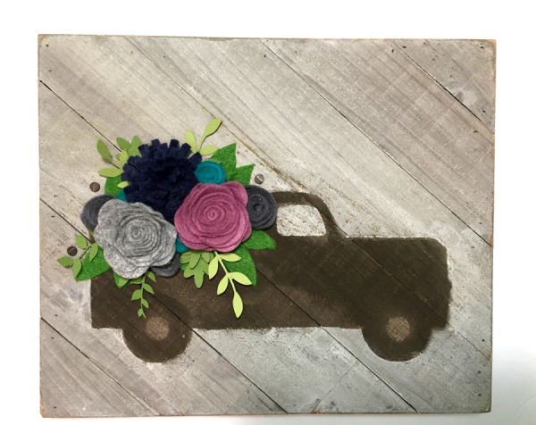 Jillibean Soup Bean Talk Tutorial Flowers In Truck Home
