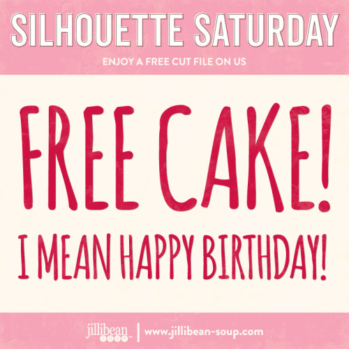 Free-Cake-Free-Cut-File-Silhouette-Saturday