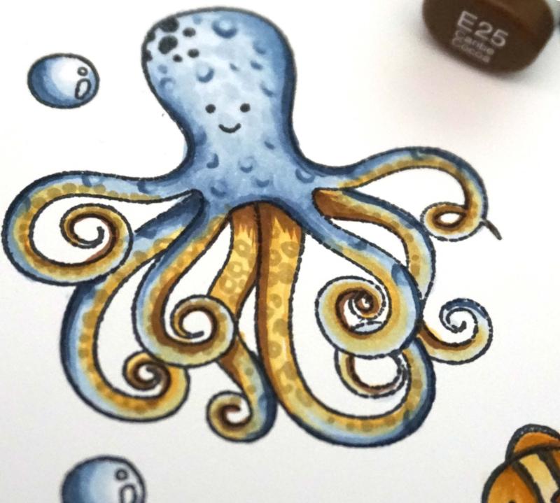 Jillibeansoup Mindy Baxter Stamp Octopus JB1563 April 2018 14