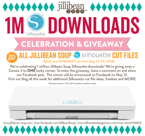 1M-Silhouette-Downloads-Celebration_Facebook Event