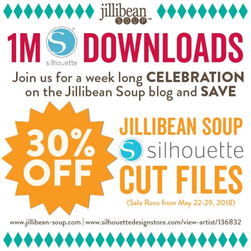 1M-Silhouette-Downloads-Celebration_Social Media SALE