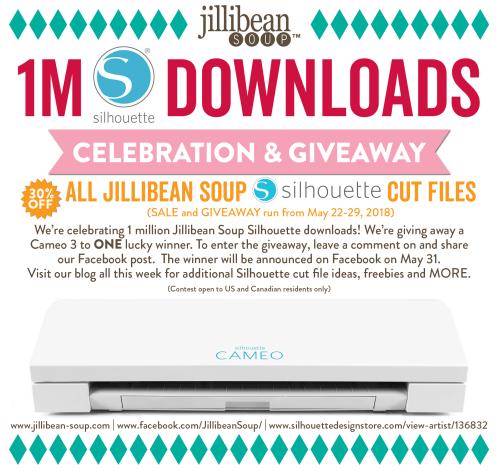 1M-Silhouette-Downloads-Celebration_Facebook Event  (1)