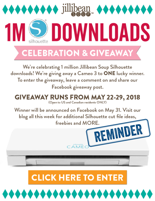1M-Silhouette-Downloads-Celebration_Email Blast 1 Last Day