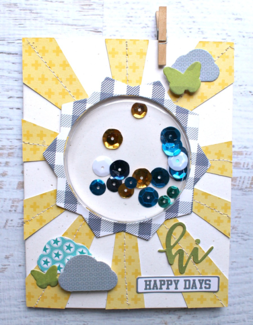 """""""2 Cool For School"""" using shape shaker system.  How to make a card using the shape shaker system.  Jillibean Soup card making.  #2coolforschool #shapeshakers #cardmaking #jillibeansoup"""