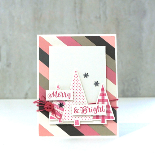 Stamped card using shaker clear stamps and shaker fillers.  How to stamp on a card.  Jillibean Soup cardmaking.  #jillibeansoup #cardmaking #shakerclearstamp #shakerfillers