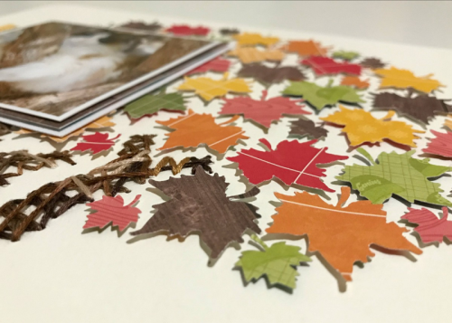 Scrapbook layout using patterned paper, alphabeans, and wood veneer.  How to create a scrapbook layout with patterned papers.  Jillibean Soup scrapbooker.  #jillibeansoup #scrapbooker #layout #alphabeans #woodveneer #farmhousestew