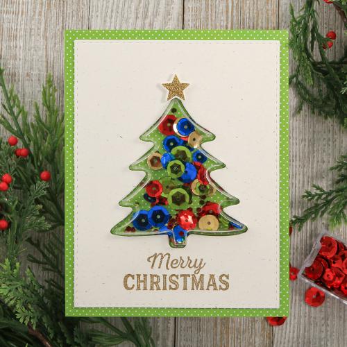 Merry-Christmas-Tree-Shape-Shaker-Card-Jillibean-Soup-Juliana-Michaels-01