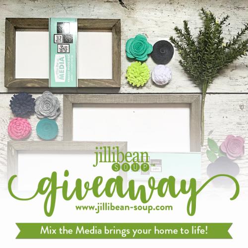 Jillibean Soup Mix the Media Instagram Giveaway. DIY giveaway from Jillibean Soup.
