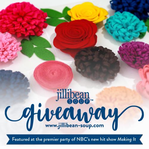 Giveaway- Felt Flowers