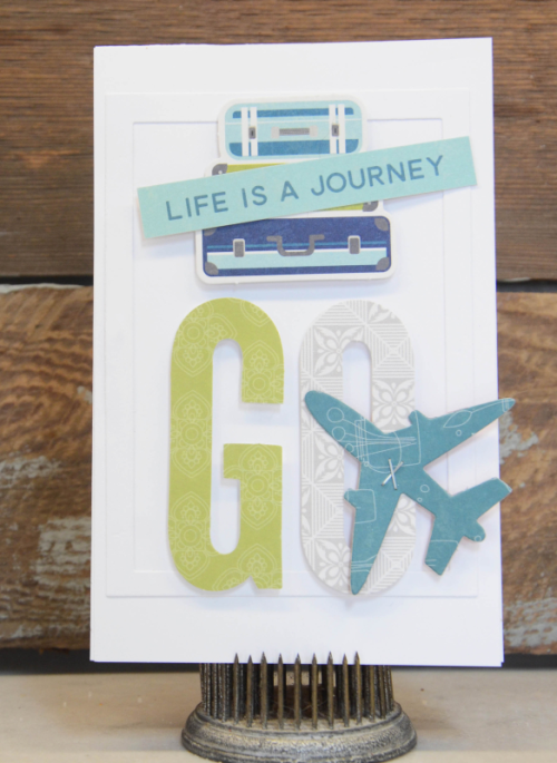 Bohemian Brew card using patterned papers, coordinating stickers, and pea pod parts.  How to create a card with Bohemian Brew.  Jillibean Soup cardmaking.  #jillibeansoup #cardmaking #bohemianbrew