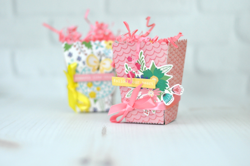 "Jillibean Soup ""Miso Happy"" Treat Box Set by Jen Gallacher #treaboxes #jillibeansoup #misohappy #papercrafts"