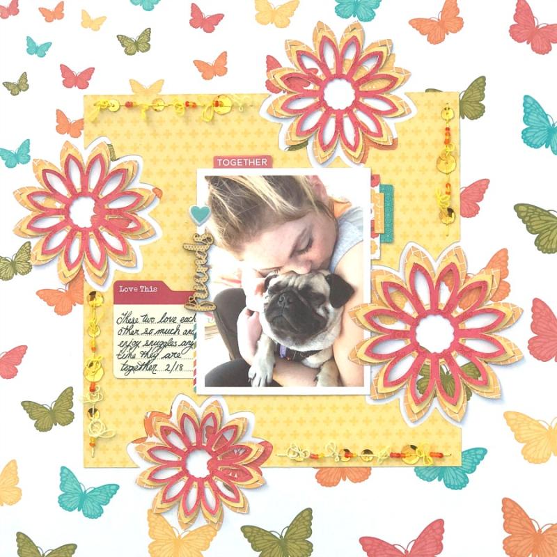 Jillibean-Soup-Melinda-Spinks-June-Tutorial-Friends-Layout-Pic 1