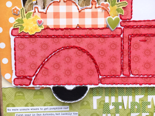 Scrapbook layout using farmhouse stew, bohemian brew, 2 cool for school, shades of color soup, and cut files.  How to use a cut file on a scrapbook page.  Jillibean Soup scrapbooker.  #jillibeansoup #scrapbooker #layout #cutfile #farmhousestew #bohemianbrew #2coolforschool #shadesofoclorsoup