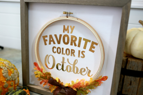 Mix the media home decor project using rustic white frame and silhouette cut file.  How to create a home decor piece.  Jillibean Soup projects.  #jillibeansoup #projects #mixthemedia #rusticframe #homedecor