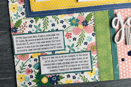 Scrapbook layout using Jillibean Soup's You Make Miso Happy Collection and All About Dots paper pads.  How to create a scrapbook layout with patterned paper.  Jillibean Soup scrapbooker.  #jillibeansoup #scrapbooker #layout #youmakemisohappy #paperpads