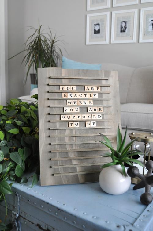Jillibean Soup Letter Board styled by Jen Gallacher #jillibeansoup #letterboard #letterboardquotes