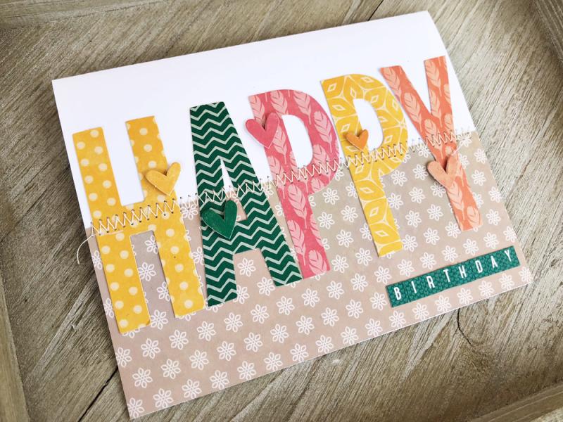 Happy Birthday Card March 2019 Anna Ekman