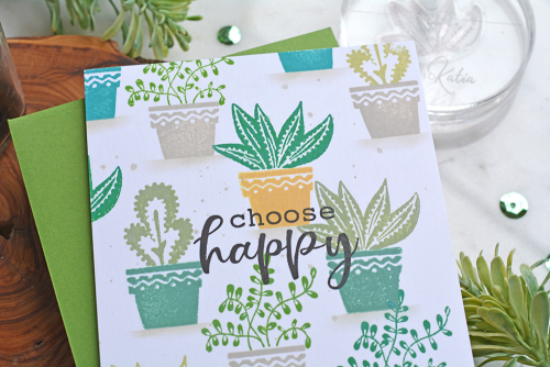 Card created using Jillibean Soup's You Make Miso Happy stamps.  How to stamp on a card.  Jillibean Soup cardmaking.  #jillibeansoup #cardmaking #stamping #youmakemisohappy #stamps