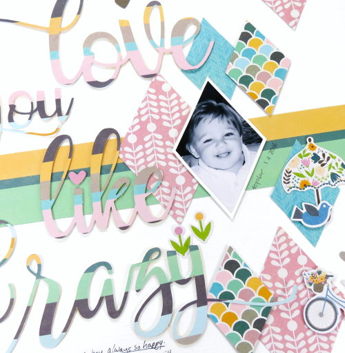 Scrapbook layout using Jillibean Soup's cut fille and Spoonful of Soul collection including patterned paper and pea pod parts.  Jillibean Soup Guest Designer.  Jillibean Soup scrapbooker.  #jillibeansoup #scrapbooker #scrapbooklayout #guestdesigner #spoonfulofsoul #cutfile