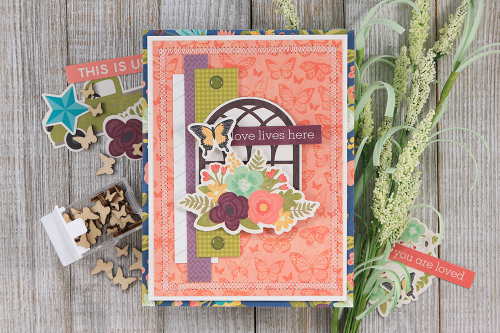 Card created using Jillibean Soup's Garden Harvest collection.  Jillibean Soup cardmaking.  #jillibeansoup #cardmaking #gardenharvest