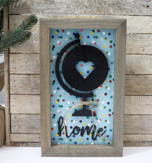 How to add foam stickers to a Jillibean Soup Mix the Media Surface. Home decor projects by Jill Yegerlehner from Jillibean Soup. #jillibeansoup #mixthemedia #foamstickers #diycraft