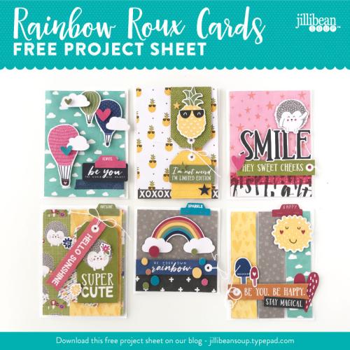Jillibean-Soup-Project-Sheet-Rainbow-Roux-Cards-IG