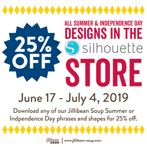 Silhouette Sales_June July 25% Summer 4th July