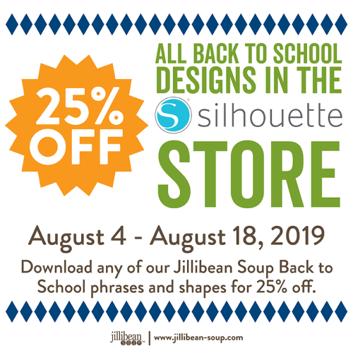 Silhouette Sales Aug&Sept_Back to School Sale