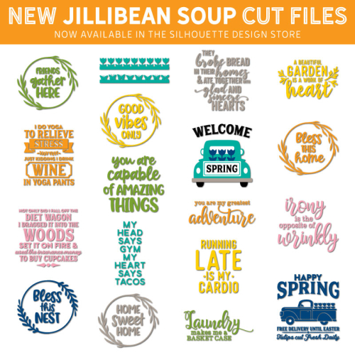 5f550bdcc Jillibean Soup Bean Talk  New Silhouette Cut Files Available in the ...