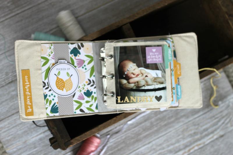 Jillibean Soup-Patty Folchert-Mini Album 3-Spoonful of Soul-Coordinating Stickers-JB2331-Feb-2019