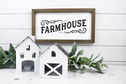 Grammar Wooden Farmhouse Sign by Jillibean Soup from Etsy. #glowforge #jillibeansoup #cutfile #farmhousesign