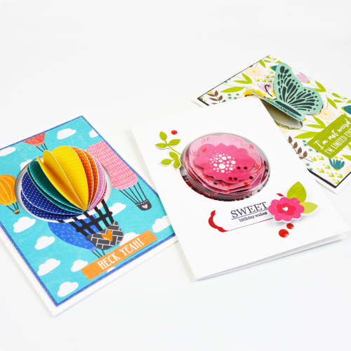 Shape shaker cards using Jillibean Soup.  How to make a shaker card.  Jillibean Soup cardmaking.  #jillibeansoup #cardmaking #shapeshaker