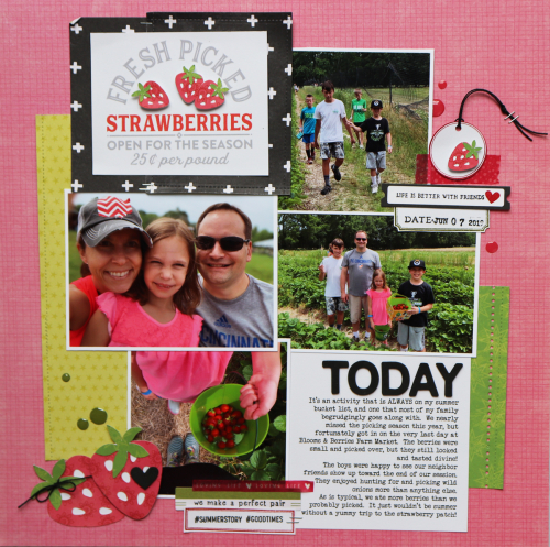 Layout using Jillibean Soup's Rainbow Roux Collection, Spoonful of Soul collection, You Make Miso Happy patterned paper, Souper Celebration patterned paper, Shades of Color Soup patterned paper, and a cut file. How to add more than one photo on a layout.  Jillibean Soup scrapbooker.  #jillibeansoup, #scrapbooker #scrapbooklayout #rainbowroux #spoonfulofsoul #cutfile #soupercelebration #shadesofcolorsoup #youmakemisohappy