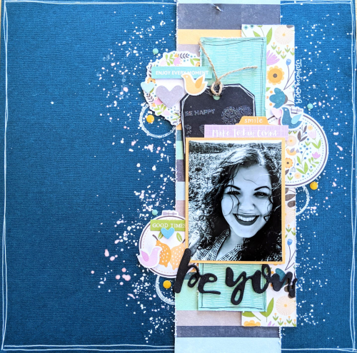 Scrapbook layouts using Jillibean Soup's Spoonful of Soul collection.  Guest Designer Lorimar Ortega.  Jillibean Soup scrapbooker.  #jillibeansoup #scrapbooker #scrapbooklayout #spoonfulofsoul #guestdesigner #lorimarortega