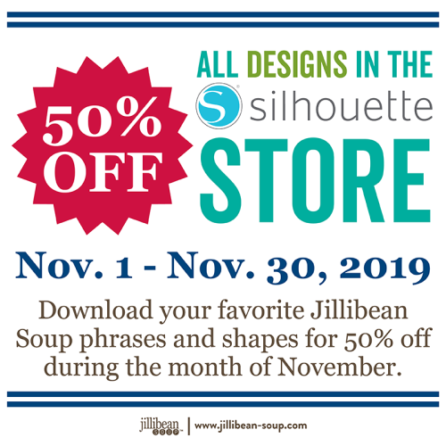 Silhouette Sales NOV2019_50% All Designs