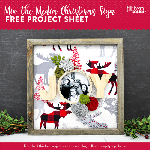 Jillibean-Soup-Project-Sheet-JOY Fabric Christmas Sign-04