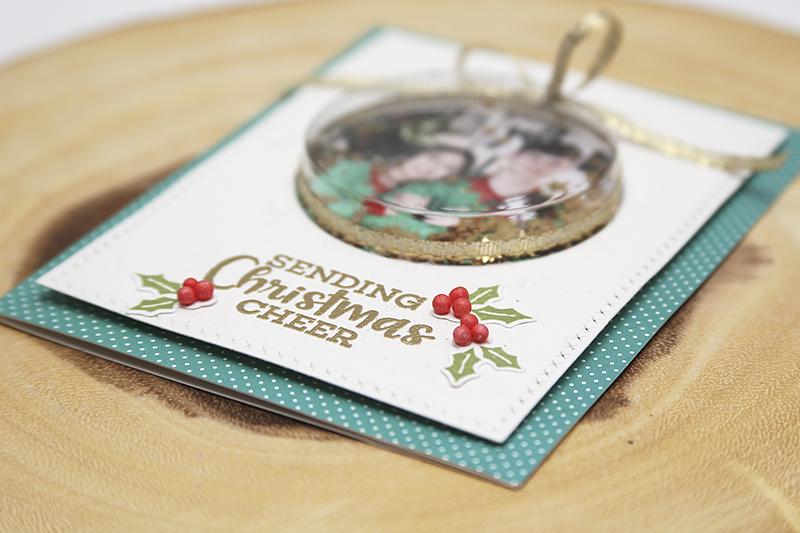 Fullerton Holiday Photo Card Christmas Cheer 02