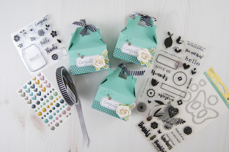 Stamped Party Favor Boxes Photo 3 by Jen Gallacher