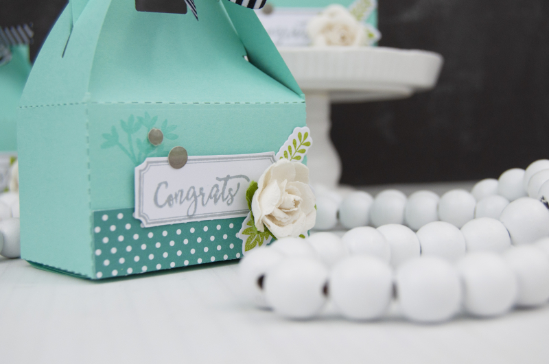 Stamped Party Favor Boxes Photo 2 by Jen Gallacher