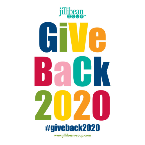 "Jillibean Soup ""Give Back 2020"" Campaign details from www.jillibean-soup.com. #jillibeansoup #giveback"