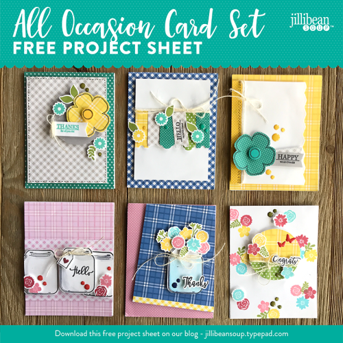 All Occasion Cards Project Sheet