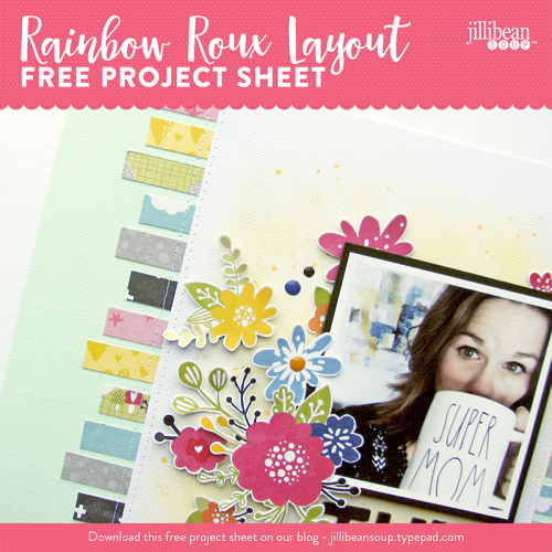 Rainbow Roux layout project sheet