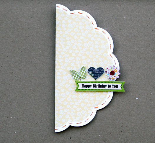 Card linda happy birthday to you