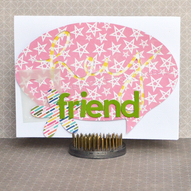 Amy-Hey Friend Card