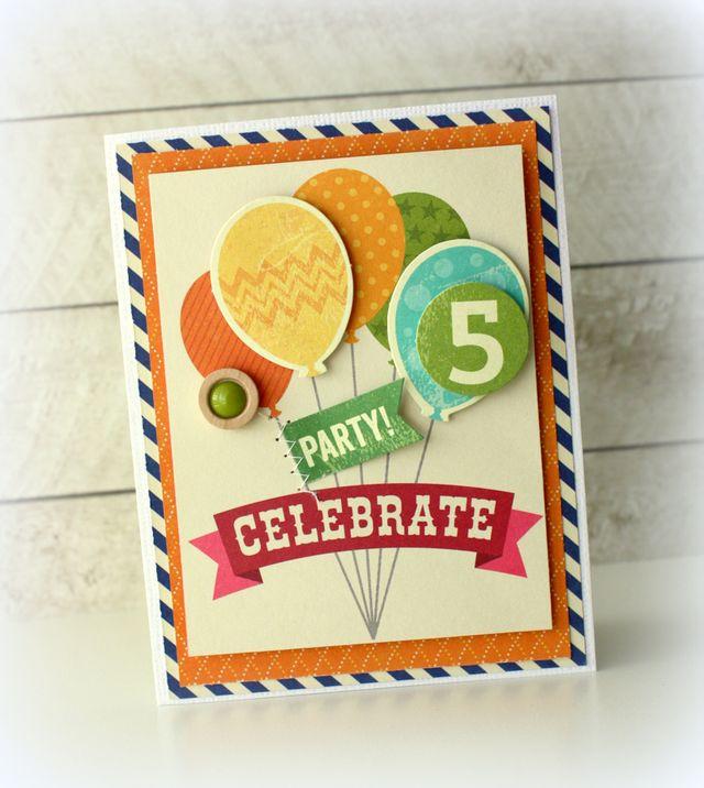 Kimj card celebrate