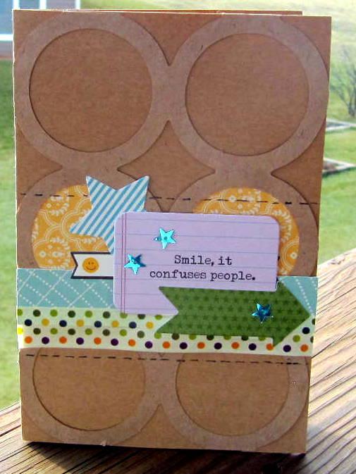Smile Card by Jenifer Harkin